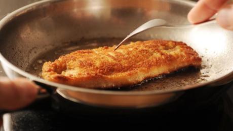 Lieblingsessen: Das Schnitzel ist eine bodenständige Mahlzeit und schnell zubereitet.