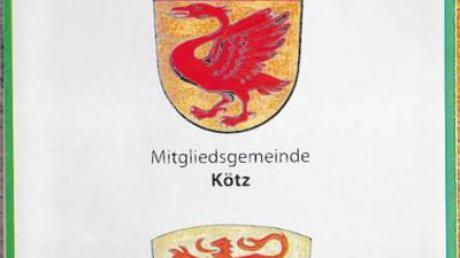 Die Verwaltungsgemeinschaft Kötz hat einen aktualisierten Ortsplan im vergrößerten Maßstab – und mit einem Druckfehler auf dem Titelblatt.