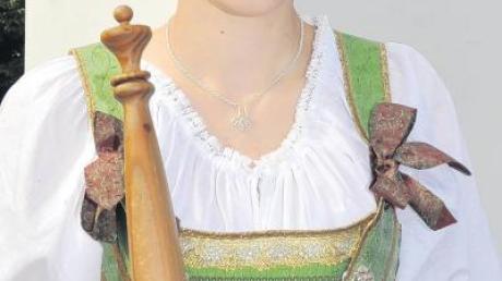 Wurde zur neuen bayerischen Waldprinzessin gewählt: die 22-jährige Eva Ritter aus Kirrberg.