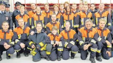 Erfolgreiche Wochen für die Freiwillige Feuerwehr Bubesheim: Die Floriansjünger zeigten ihr Können bei Inspektion und Leistungsabzeichen.