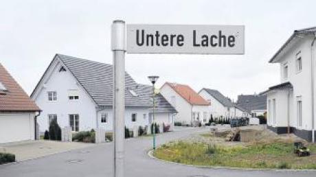 Im Neubaugebiet Untere Lache in Bubesheim soll nach dem Willen der Gemeinderatsmitglieder eine 30er-Zone eingerichtet werden.