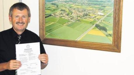 """""""Die Reihenfolge der Entscheide richtet sich nach dem zeitlichen Eingang der Bürgerbegehren.""""2. Bürgermeister Rainer Finkel"""