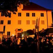 Beim Historischen Fest wird der Innenhof zum Heerlager.