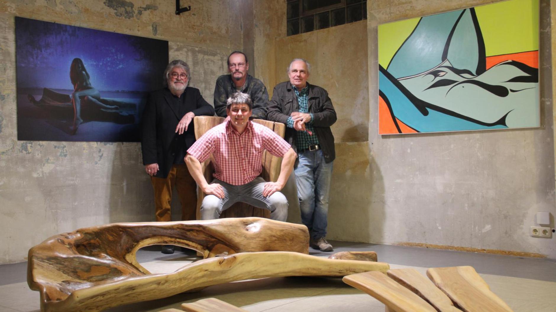 Ausstellung: Drei Künstler, ein Modell, viele Kunstwerke