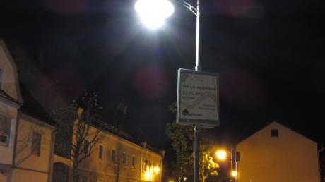In der Gemeinde Sielenbach sollen die Straßenlaternen auf die LED-Technik umgerüstet werden. Unser Symbolbild zeigt nicht die Ausführung, die in Sielenbach geplant ist.