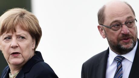 Die Parteien in der Region setzen darauf, dass Angela Merkel und Martin Schulz ihnen einen Besuch abstatten.