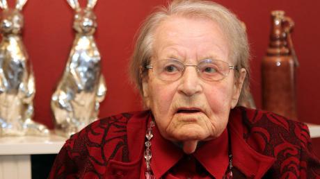 Margarethe Hämmerle hat früher viel Sport getrieben. Heute wird die Günzburgerin 100 Jahre alt.