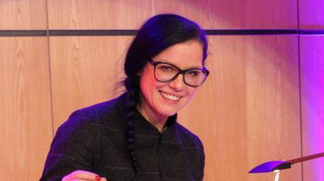 """""""Im nächsten Leben ist zu spät"""", behauptet die Unternehmerin Sina Trinkwalder in ihrem neuesten Buch, aus dem sie im Forum am Hofgarten erzählte."""