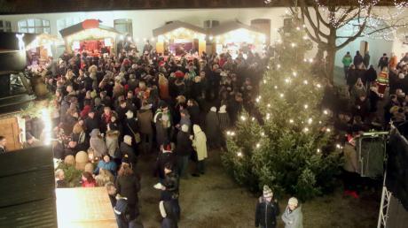 Die Schlossweihnacht in Burgau findet am 3. Dezemberwochenende statt. Alle Infos rund um Start, Öffnungszeiten, Termine und Programm lesen Sie hier.