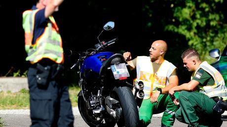 Die Polizeiinspektion Burgau kontrollierte mit Kollegen der Motorradkontrollgruppe des Polizeipräsidiums Schwaben Süd/West am Sonntag schwerpunktmäßig Motorräder.