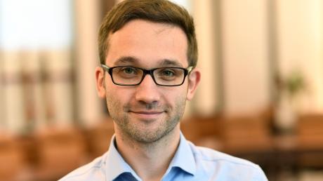 Tobias Auinger ist der stellvertretende Vorsitzende der SPD im Kreis Günzburg.
