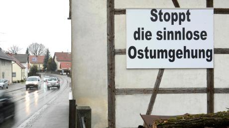 Kammeltaler Bürger kritisieren in ihrer Bürgerversammlung die geplante B16-Ortsumfahrung von Ichenhausen.