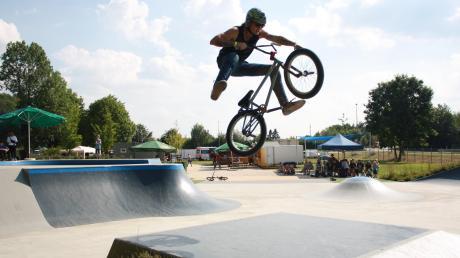 Einen Skateplatz wünschen sich Unterrother Jugendliche. Illertissen hat seit 2014 eine solche Anlage.