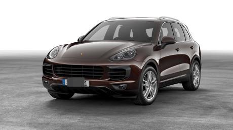 Beim Kauf eines Porsche Cayenne haben Betrüger den Verkäufer in Krumbach geprellt.
