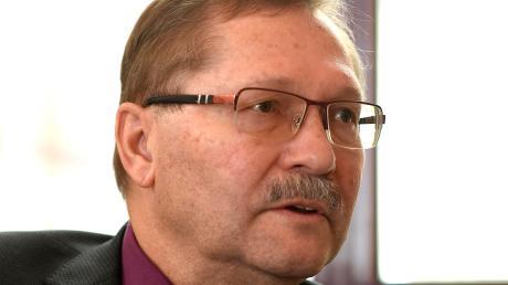 Konrad Barm beim Gespräch in der GZ-Redaktion: Der Burgauer Bürgermeister spricht im Interview mit unserer Zeitung über Themen, die gerade wichtig für seine Stadt sind.