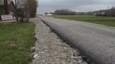"""Der vom Staatlichen Bauamt Krumbach ausgebaute Radweg beim Kammeltaler Ortsteil Egenhofen werde als Ausweich-""""Rennstrecke"""" benutzt, wurde im Gemeinderat beklagt."""