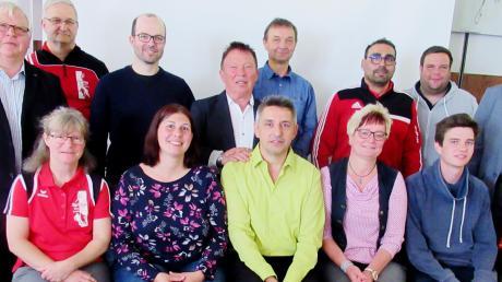 Der neue Vorstand der Spielvereinigung Glöttweng-Landensberg.