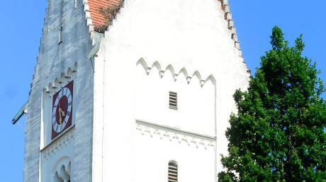 Die Kirche St. Martin im Burgauer Stadtteil Unterknöringen erhält mit 28600 Euro die größte Fördersumme.