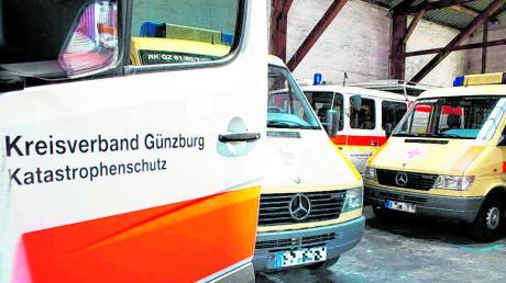 Noch stehen Fahrzeuge des Katastrophenschutzes in einer Halle auf dem Gelände der ehemaligen Münz-Brauerei in Günzburg. Die Nutzung ist dort jedoch nicht langfristig gesichert, zudem ist es ziemlich beengt.