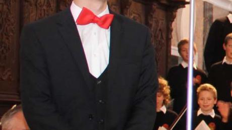 2015 war Stefan Steinemann als Solist der Augsburger Domsingknaben in Günzburg zu hören. Zum Jahreswechsel wird er der neue Domkapellmeister und damit Leiter des Augsburger Ausnahmechores.