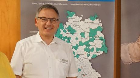 Ralf Schreyer war seit 2012 der Leiter des Kommunalen Jobcenters Günzburg.