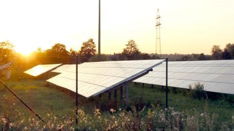 Beim Umspannwerk in Offingen soll eine Fotovoltaik-Freifläche entstehen.