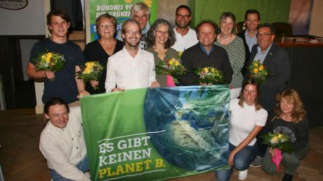 Mit großer Zuversicht gehen die Grünen in die Kreistagswahl im kommenden März. Ihr Ziel ist es, zweitstärkste politische Kraft im Kreistag zu werden – vor SPD und Freien Wählern.