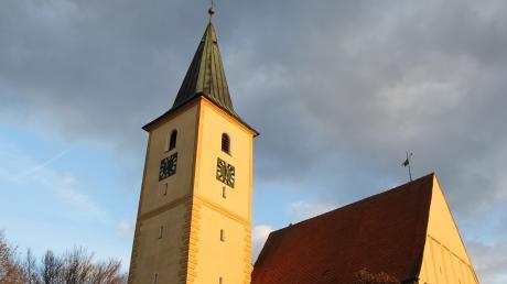 Die Anhofer Pfarrkirche ist gesperrt.