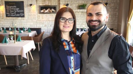 Aleksandra und Murat Toksoy haben vor Kurzem in Burgau das Restaurant Craft Lux eröffnet. Sie wollen einiges anders machen als ihre Vorgänger.