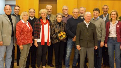 Die Vertreter des Caritasverbands für die Region Günzburg und Neu-Ulm.