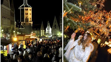 Die ersten starten schon am kommenden Wochenende, andere wie die Günzburger Altstadtweihnacht und der Nikolausmarkt sind erst im Dezember dran: Zahlreiche Weihnachtsmärkte laden in der Region zu besinnlichen Stunden ein.