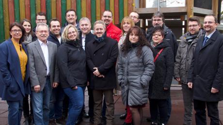 Die Kandidaten der CSU Kötz für die Kommunalwahlen 2020.