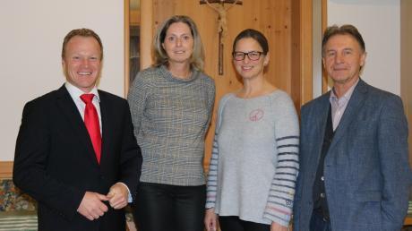 Große Freude bei Thomas Wörz (links), Luise Bader, Katja Vielweib und Gerd Olbrich.