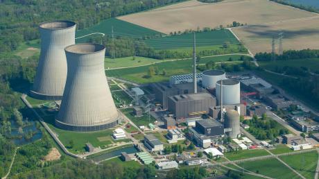 Auf dem Foto: Das Atomkraftwerk Gundremmingen.