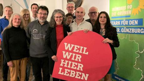 Kandidaten der Grünen für den Burgauer Stadtrat. Nicht alle sind auf dem Bild.