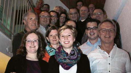Ein Teil der Kandidaten der Christlichen Wählergemeinschaft für den nächsten Burgauer Stadtrat.