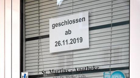 Seit dem 26. November ist hier nicht mehr geöffnet.