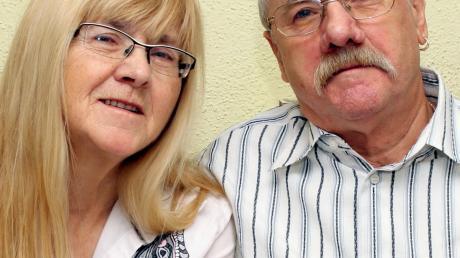 Das Ehepaar Graf aus Ichenhausen ist seit 50 Jahren verheiratet. Kennengelernt haben sie sich im Schwarzwald.