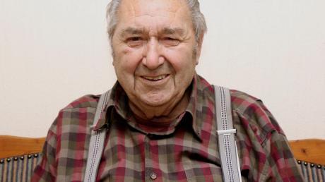 Rudolf Schlecker feiert seinen 90. Geburtstag.