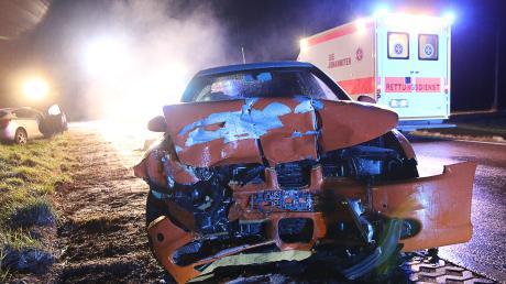 An diesem Unfall waren zwei Autos beteiligt.