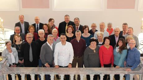 Die zahlreichen Jubilare und Gratulanten des Standortes Günzburg der Bezirkskliniken Schwaben.