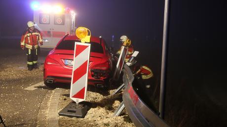 Ein schwerer Unfall ist am Donnerstag bei Limbach passiert.