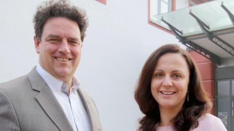 Freuen sich auf die Veranstaltungen: Kulturamtsleiter Stefan Siemons und Stellvertreterin Katja Maier.