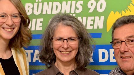 Eva Lettenbauer, Eveline Kuhnert und Kurt Schweizer.