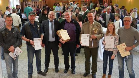 Ausgezeichnet wurden beim Neujahrsempfang der Gemeinde Bibertal erfolgreiche Sportler und Mannschaften sowie großes Engagement im Ehrenamt. Für Oliver Preußner war es der letzte Neujahrsempfang als Bürgermeister.