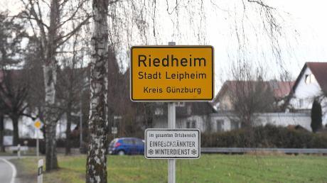 Für den Riedheimer Ortskern wird derzeit ein Bebauungsplan erstellt. Deshalb müssen Bauherren derzeit warten.