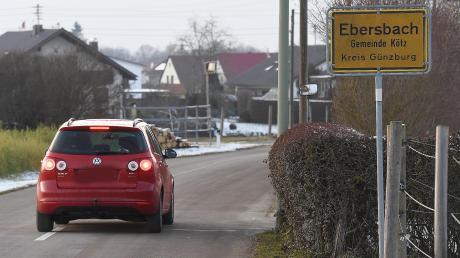 Ausgebremst: Tempo 30 nicht nur auf der Wettenhauser Straße, sondern im ganzen Ortsteil forderten Ebersbacher Gemeinderäte in einem Antrag. Dieser wurde aber zurückgezogen. Der Gemeinderat von Kötz hat stattdessen beschlossen, ein Verkehrskonzept für alle drei Ortsteile erarbeiten zu lassen.