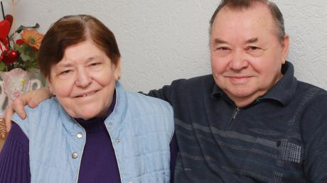 Marica und Dragutin Dolinac stammen aus Kroatien und leben seit fast 50 Jahren in Burgau. Heute feiert das Ehepaar Goldene Hochzeit.