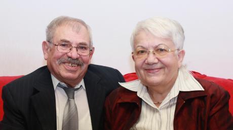 Milan Filipovski und seine Frau Stojanka stammen aus Mazedonien, leben aber schon seit 50 Jahren in Burgau.