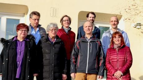 Die Kandidaten der CSU für den nächsten Gemeinderat.